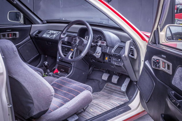 INTERIOR DRIVER DASHBOARD