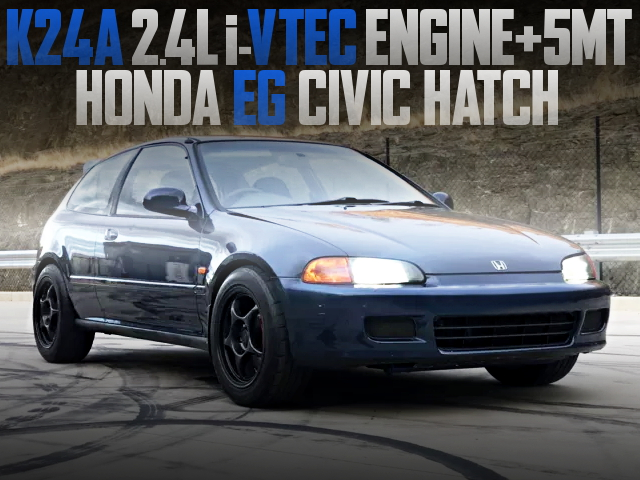 K24A ENGINE SWAP EG CIVIC HATCH