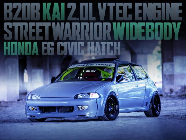 STREET WARRIOR WIDEBODY EG CIVIC
