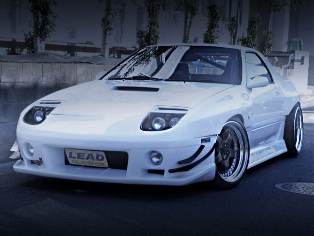 FRONT EXTERIOR FC3S RX-7 WIDEBODY