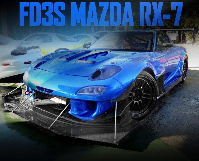 WIDEBODY RACE SPEC FD3S RX-7