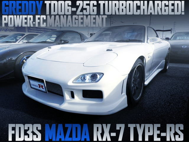 TD06-25G SINGLE TURBO FD3S RX7 TYPE-RS