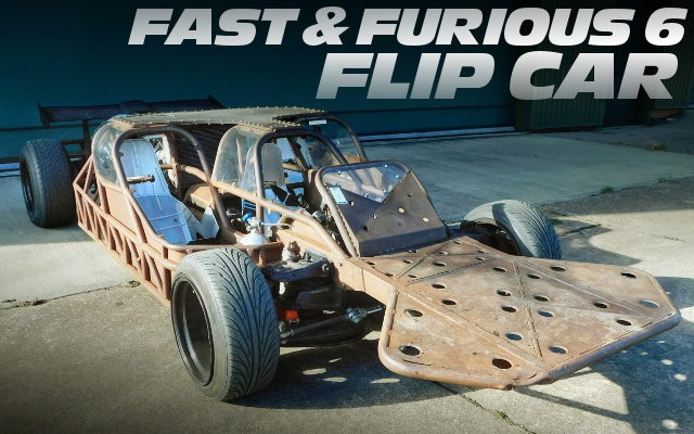 FAST FURIOUS 6 FLIP CAR SALE