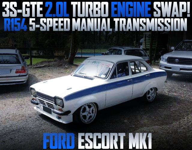3S-GTE TURBO ENGINE FORD ESCORT MK1