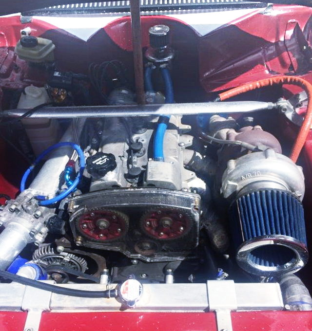 3S-GTE 2000cc TURBO ENGINE