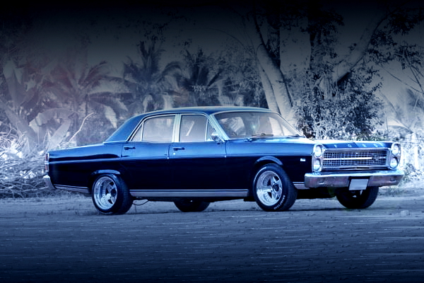 SIDE EXTERIOR FORD-AU ZD FAIRLANE