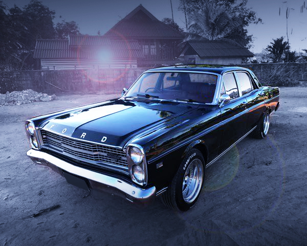 FRONT FACE FORD-AU ZD FAIRLANE