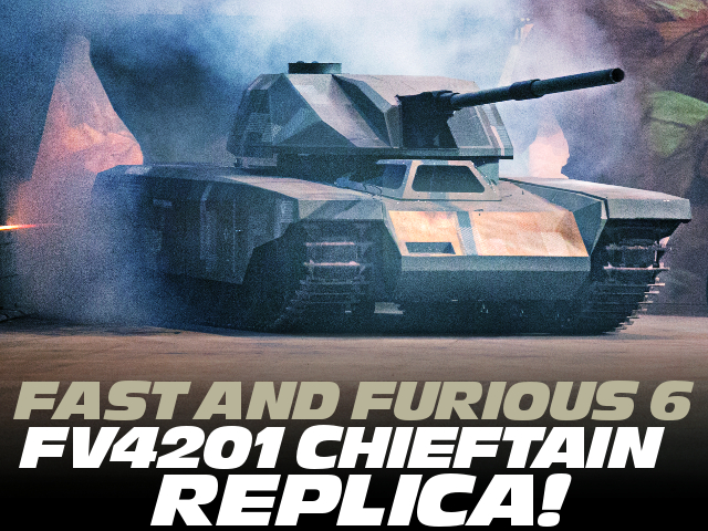 FAST AND FURIOUS FV4201 REPLICA