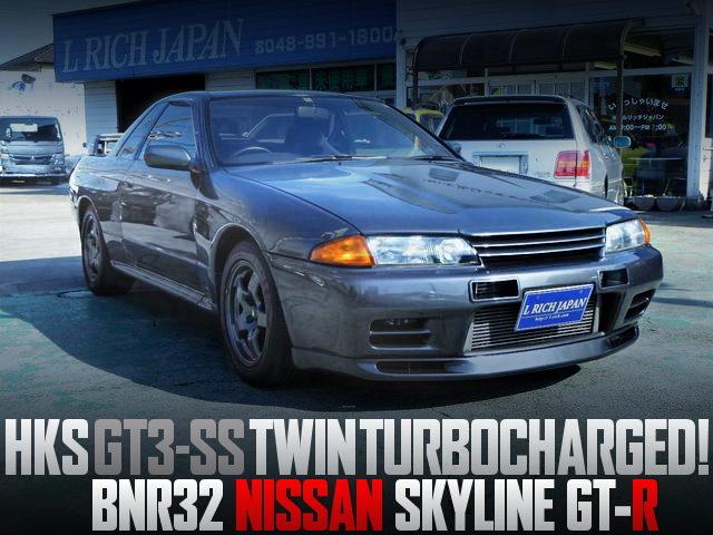 GT3-SS TWINTURBO R32 SKYLINE GTR