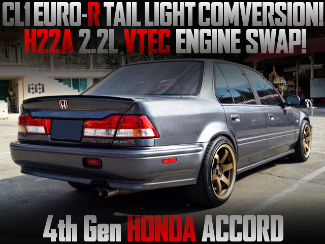 EURO-R TAIL CONVERSION 4th ACCORD 4DOOR
