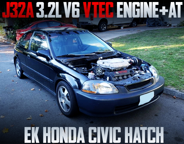 J32A V6 VTEC ENGINE EK CIVIC HATCH