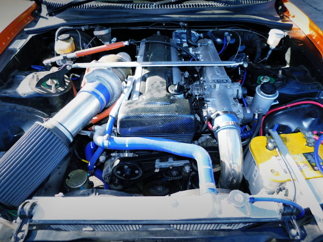 2JZ-GTE ENGINE WITH SINGLE TURBOCHARGER