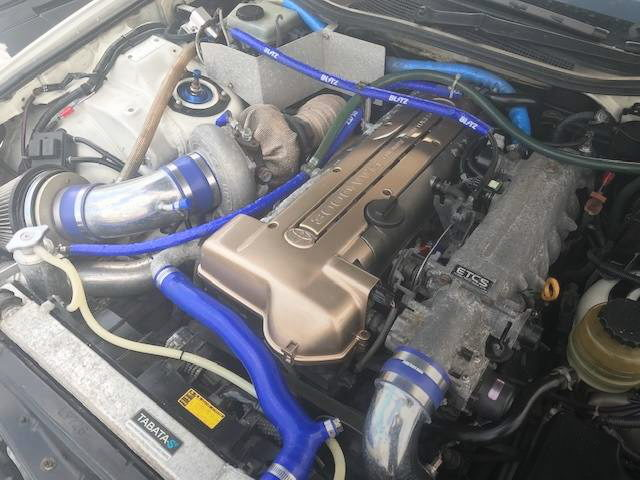 2JZ-GTE ENGINE WITH TO4Z SINGLE TURBO