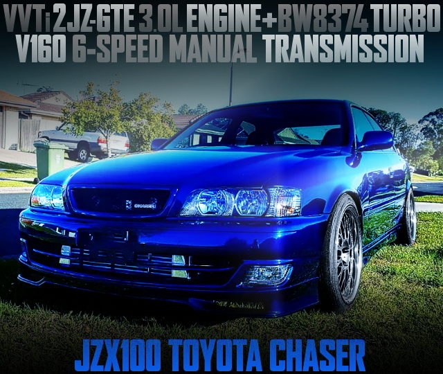 2JZ-GTE SWAPPED JZX100 CHASER