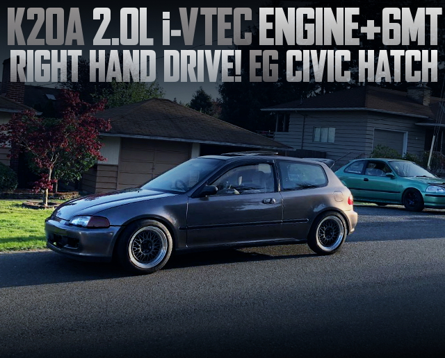 K20A iVTEC ENGINE WITH 6MT EG CIVIC RHD