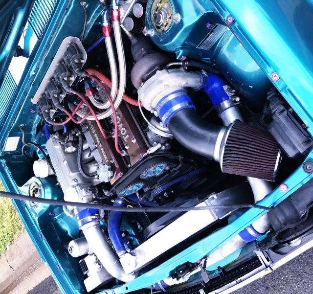 16VALVE 4AG TURBO ENGINE