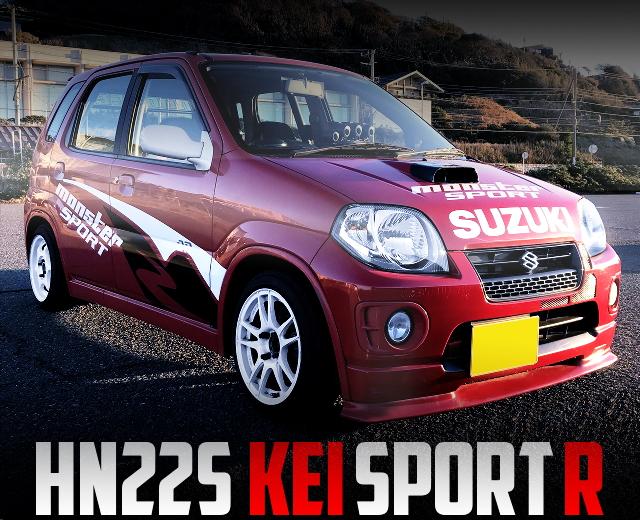 HN22S SUZUKI KEI SPORT-R
