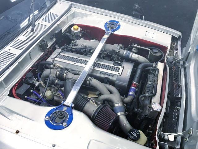 1JZ-GTE TWINTURBO ENGINE INTO HAKOSUKA ENGINE ROOM