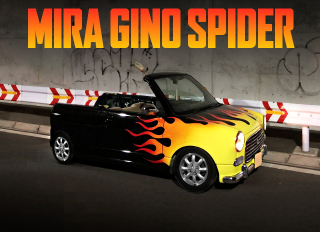 OPEN CAR CUSTOM MIRA GINO