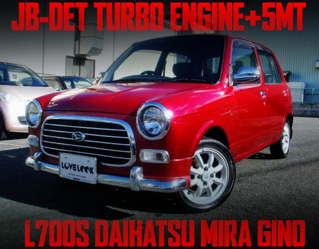 JB-DET TURBO ENGINE SWAP L700S MIRAGINO