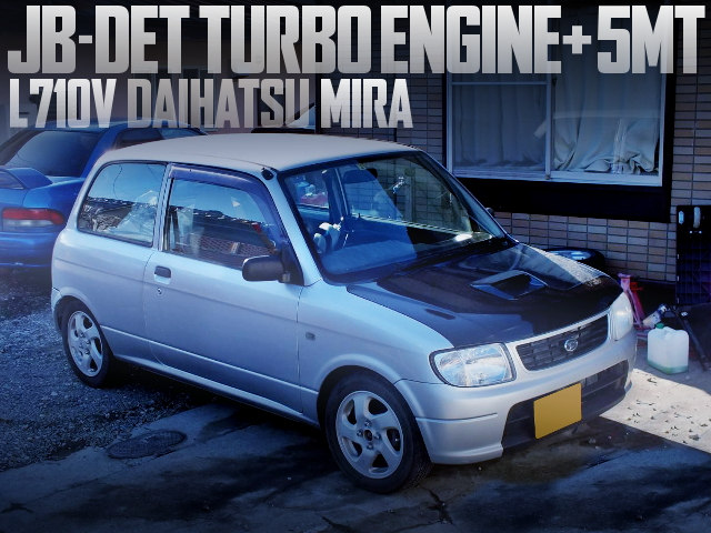 JB-DET TURBO ENGINE WITH 5MT INTO L710V MIRA