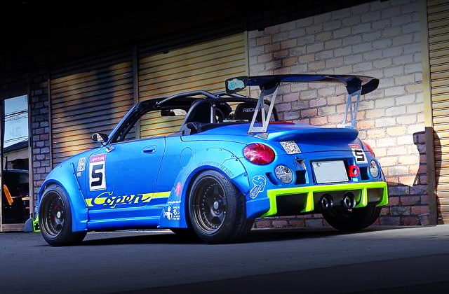 REAR EXTERIOR L880K COPEN WIDEBODY
