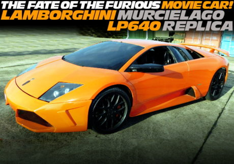 FAST 8 MOVIE CAR OF MURCIELAGO REPLICA