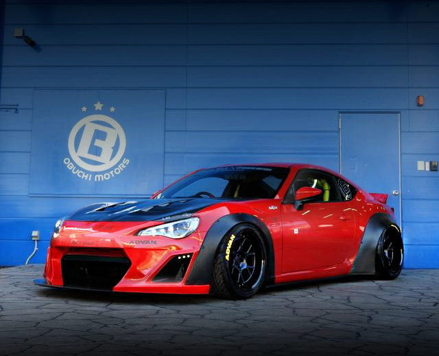 FRONT LB-NATION WIDEBODY TOYOTA 86
