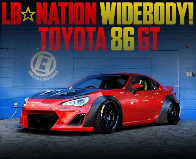 LB-NATION WIDEBODY TOYOTA 86GT