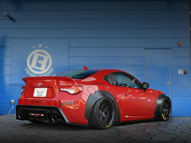 REAR LB-NATION WIDEBODY TOYOTA86