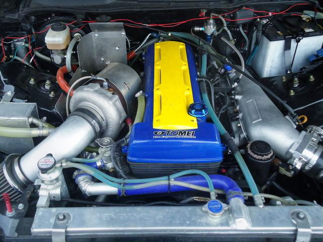 2JZ-GTE ENGINE WITH GCG TURBOCHARGER
