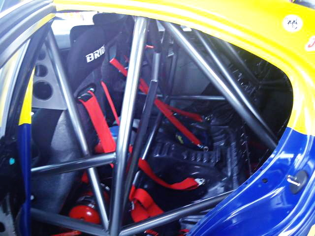 ROLL CAGE ON GSE20 LEXUS IS250