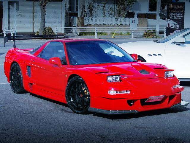 FRONT NA1 NSX SUPER RED