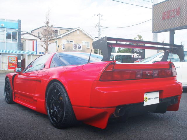 REAR EXTERIOR NA1 NSX SUPER RED