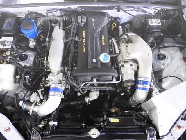 SUPERCHARGED B6-ZE ENGINE