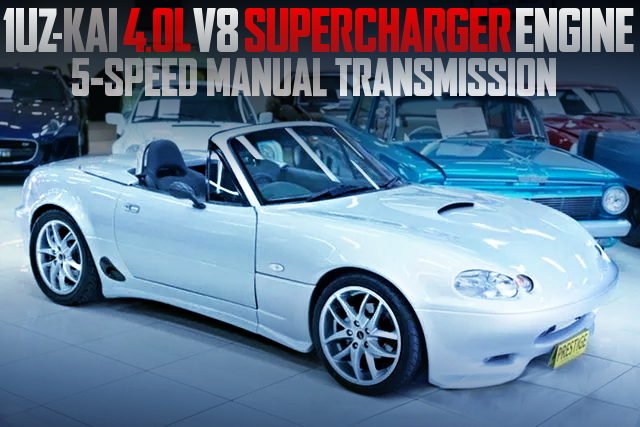 1UZ V8 SUPERCHARGER ENGINE 2nd Gen MIATA MX5
