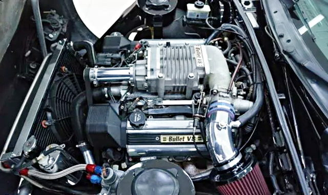SUPERCHARGED 1UZ-FE V8 ENGINE