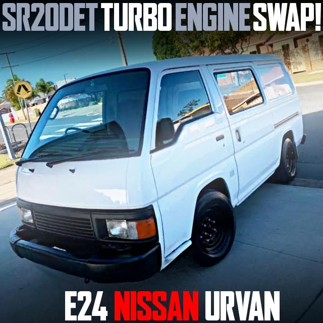 SR20 TURBO ENGINE E24 URVAN