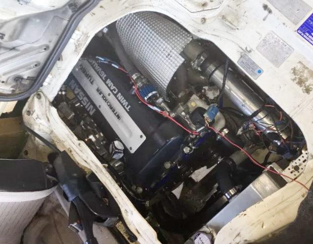 SR20DET ENGINE SWAP ROOM FOR E24 URVAN