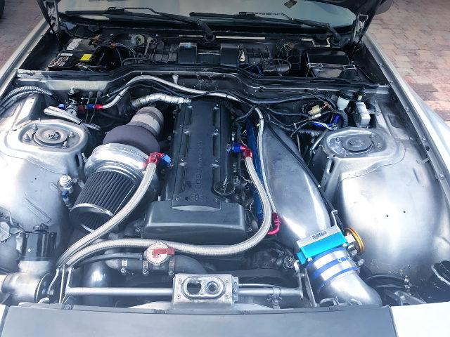 2JZ-GTE ENGINE WITH GARRETT TURBO