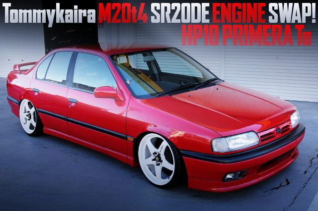TOMMYKAIRA M20t4 SR20DE ENGINE SWAP HP10 PRIMERA