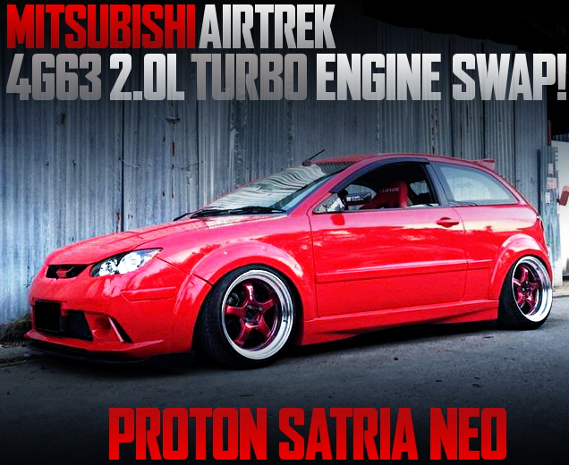 4G63 TURBO ENGINE SWAP PROTON SATRIA NEO