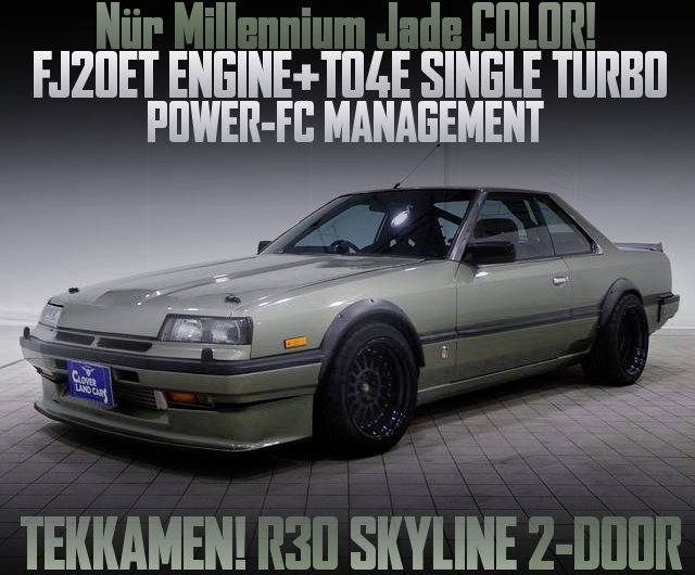 FJ20 WITH TO4E R30 TEKKAMEN SKYLINE