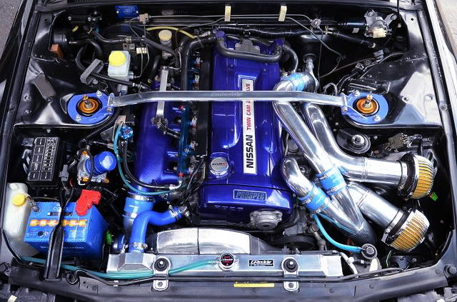 RB26 TWINTURBO ENGINE FROM R32GTR
