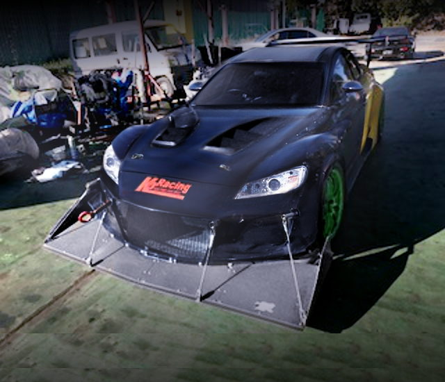 EXTERIOR MAZDA RX8 RACE CAR