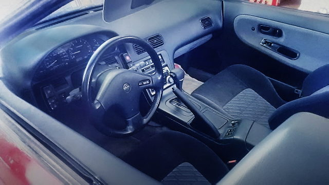 LEFT HAND DRIVE DASHBOARD FROM 240SX