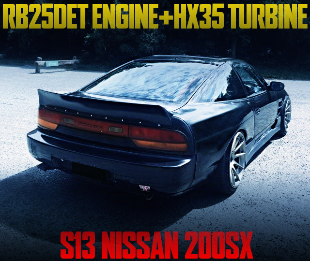RB25DET WITH HX35 TURBO FOR S13 200SX