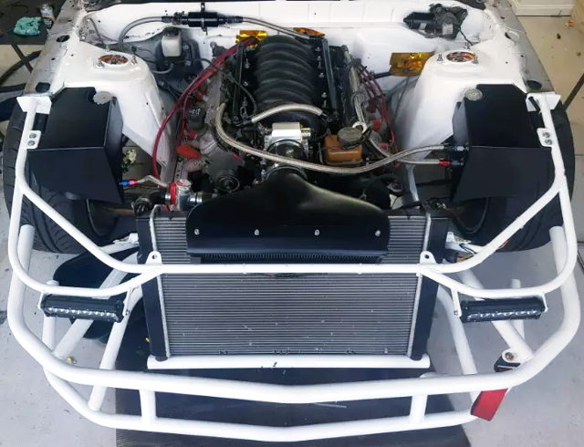 LS3 HEAD WITH L76 V8 ENGINE