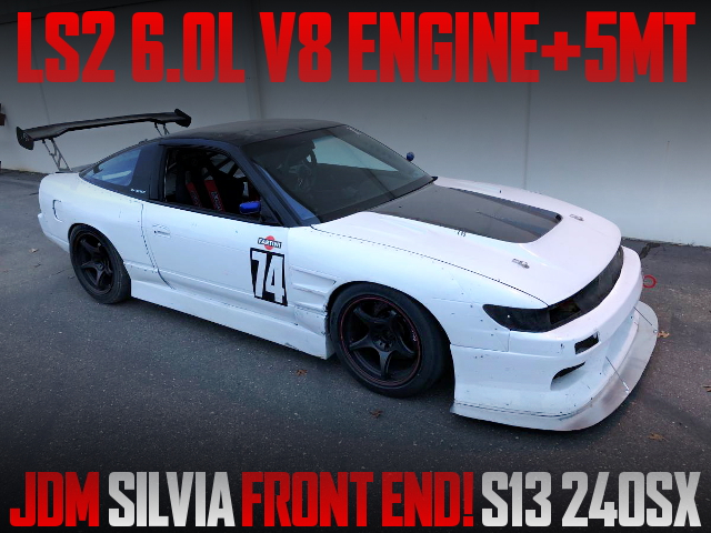LS2 V8 ENGINE S13 240SX FAST BACK