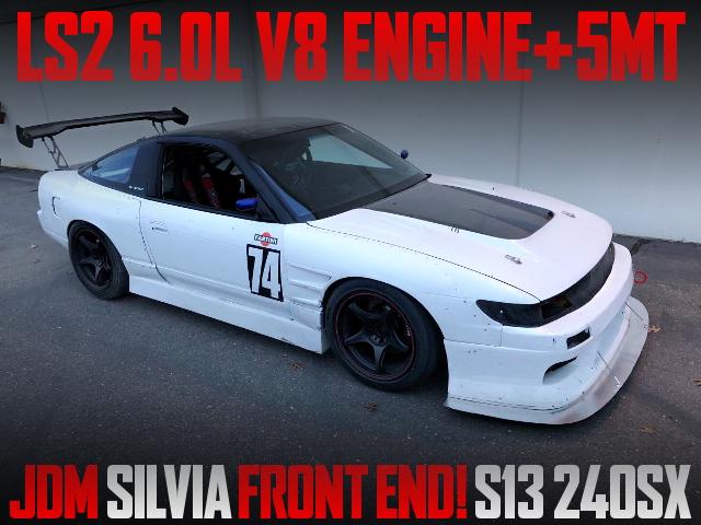 LS2 V8 ENGINE S13 240SX FAST BACK